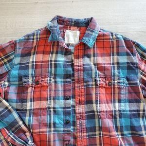 Aeropostale Plaid Flannel Shirt Size XL